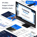Lucerne - Corporate Business Free Presentation by Slidecore