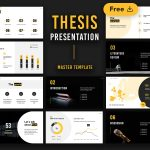 Rea - Free Thesis Presentation Template by Slidecore