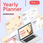 Free Yearly Planner Presentation by Slidecore