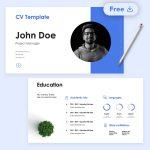Free Zurich CV Presentation by Slidecore