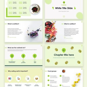 Venu Nutrition & Health Free Presentation Template by Sidecore