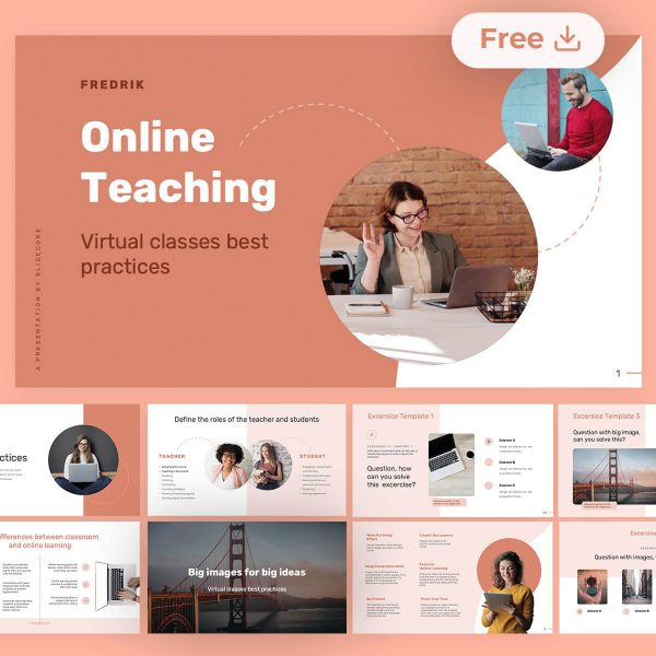 Fredrik-Online-Teaching-Best-Practices-by-Slidecore