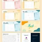 2020 Calendar Free Template for Powerpoint (PPT) and Google Slides-pages-2