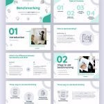 Benchmark Free Powerpoint PPT and Google Slides Template by Slidecore