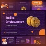 Node Trading and Cryptocurrency Free Presentation Template for Powerpoint and Google Slides by Slidecore